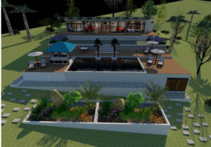 3d design by constructora Vargas, san juan del sur rivas