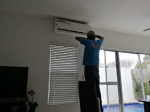 Cleaning air conditioning by vargas builder in san juan del sur