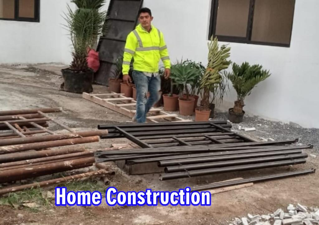 Home construction, san juan del sur, rivas nicaragua