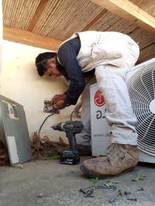 Reparación sistema eléctrico constructora vargas, san juan del sur Nicaragua