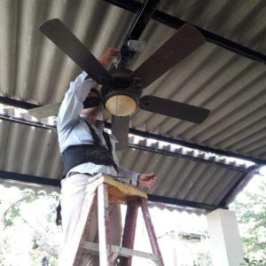 installation of ceiling fans san juan del sur