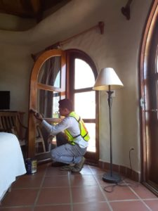repair and maintenance of wooden doors, san juan del sur