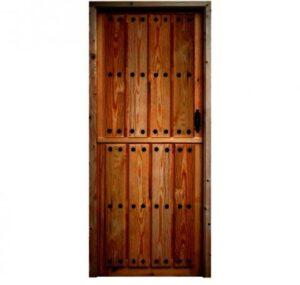 wooden door rustic model
