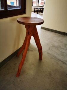 Butaca de madera