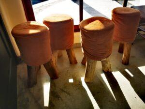 Butacas de madera