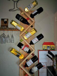 Porta Vino de madera