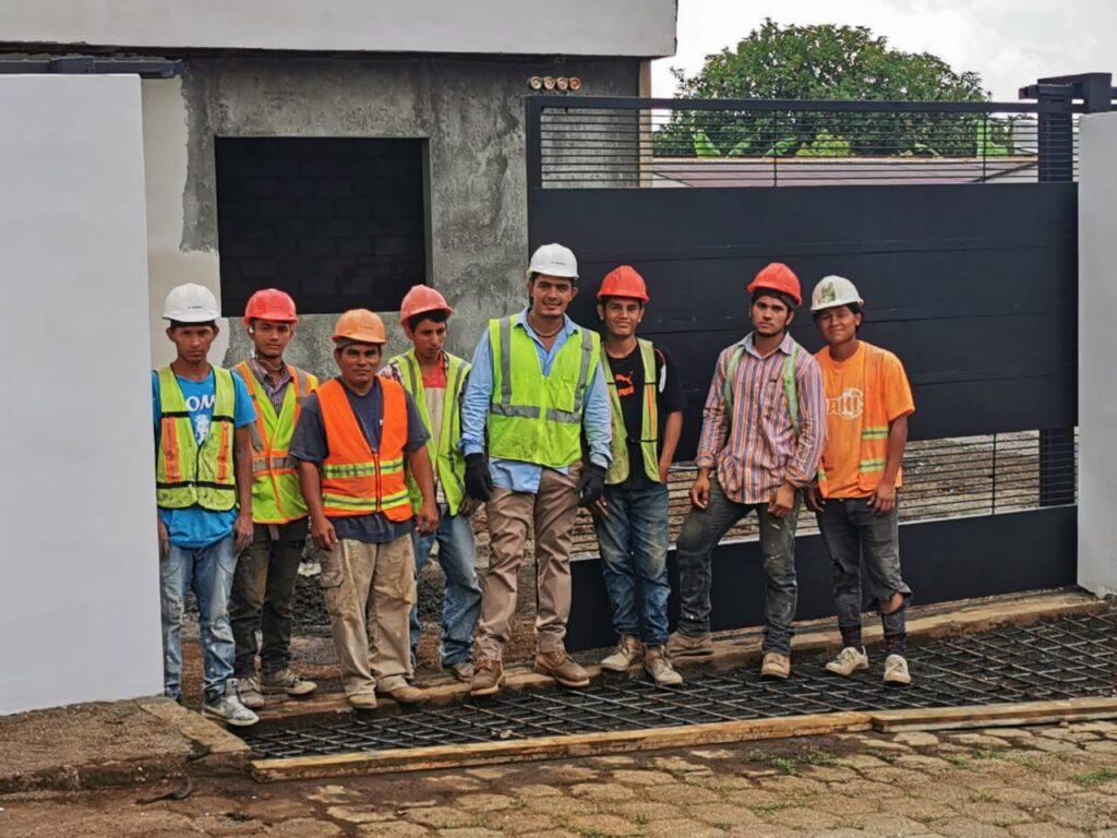 colaboradores, constructora vargas, san juan del sur
