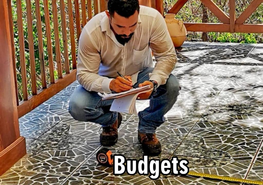 Budgets (Presupuestos de construcción)